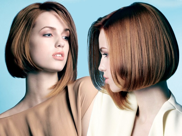 Short to medium hair: What do you choose for Christmas ?! Hair Color Ideas