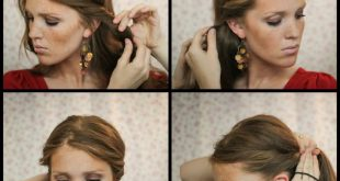 Hairstyle simple for woman - Hairdressing simple and fast Simple Hairstyles