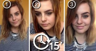 The Best Technique To Make A Square Cut At Home Without Having to Go To The Hairdresser New Hairstyle Trends