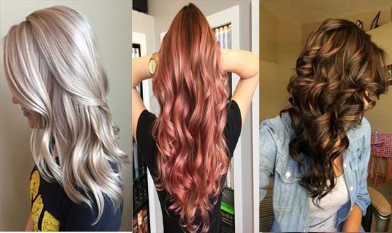 Beautiful Colors To Wear This Summer - 20 Awesome Stitching Models Hair Color Ideas