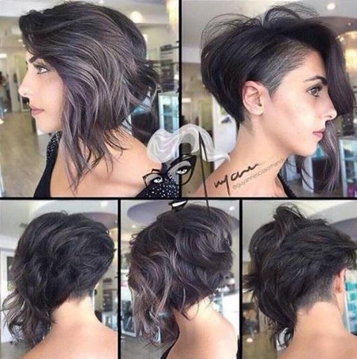 Asymmetrical cuts trends New Hair Cut Trends