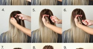 Hairdressing easy and fast - easy braid New Hairstyle Trends