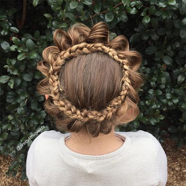 Here are some beautiful braids for little girls New Hairstyle Trends