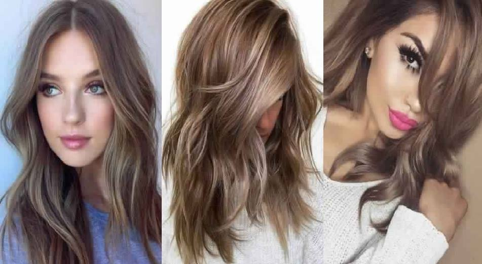 dark blonde hair: with sweeping or not it's an ideal choice for summer Hair Color Ideas