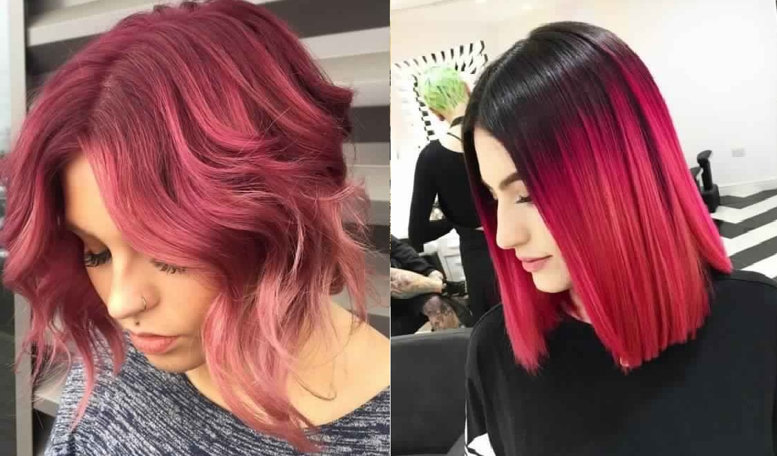 40 Beautiful Square Cups with Impressive Colors Hair Color Ideas