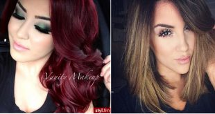 The Best Hair Colors For Christmas Parties: 40 Models To Inspire You Hair Color Ideas