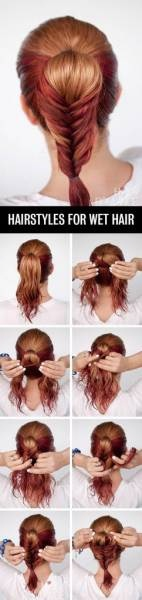 Express hairstyle ideas to do in less than 5 minutes Fast Simple Hairstyles