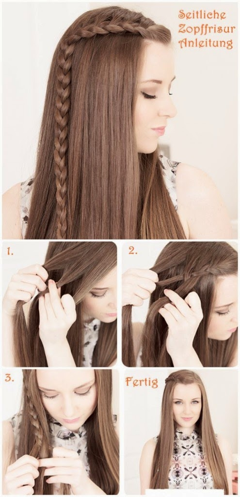 Hairdressing easy to do and fast Easy Hairstyles
