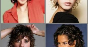 How to style yourself: short curly hair New Hairstyle Trends