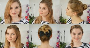 7 Simple and Fast Hairstyles Tutorials for Your Daily Activities! Everyday Hairdressing