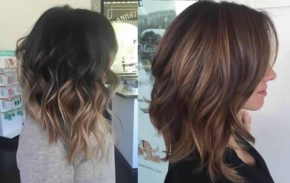 Shaded Hair Medium Hair Best Models Hair Color Ideas