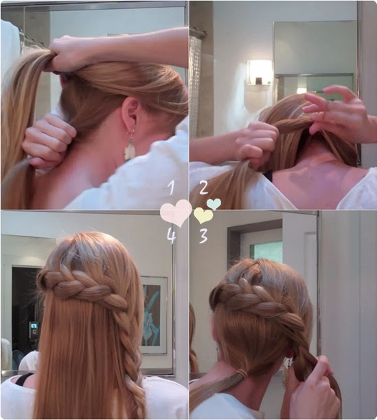 10 easy hairstyle templates Easy Hairstyles