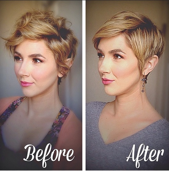 Beautiful stylish cuts trend New Hair Cut Trends