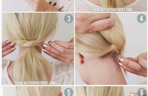 Quick and easy hairdressing tutorial New Hairstyle Trends