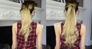 The trick that allows you to have longer hair in just a few minutes Hair Styling Tips