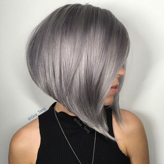 Asymmetrical Square Cups: A Beautiful Trend for This Summer - Top 20 Stitching Patterns Hair Cut Trends