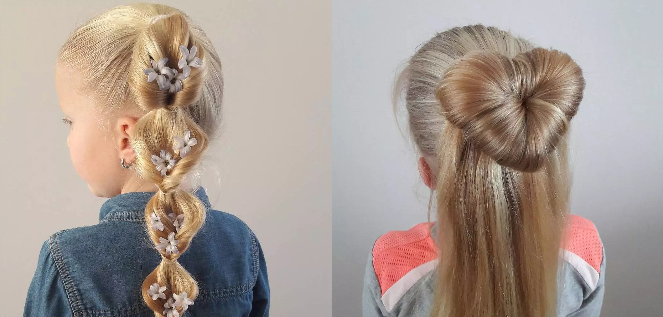 15 beautiful hairstyles for your little girl: inspire yourself Hairdressing
