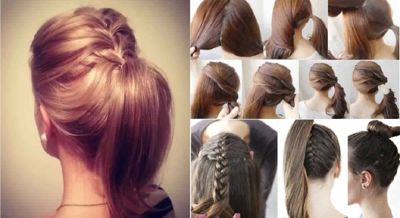easy to do hairstyle: the easiest hairstyles tutorials to make Fast Simple Hairstyles