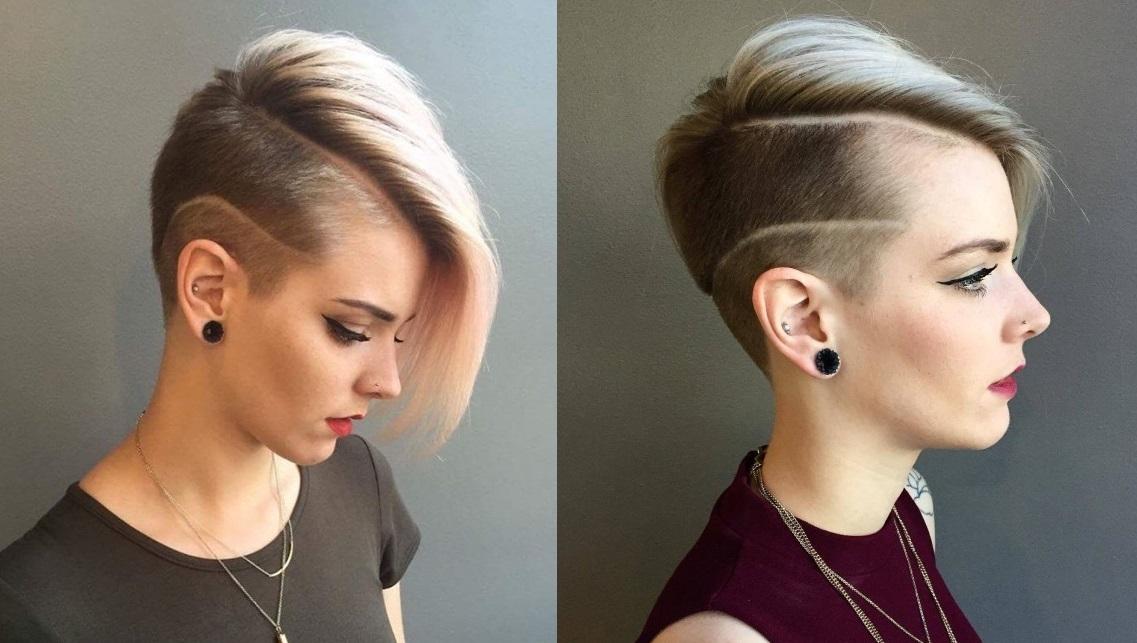 Beautiful Feminine Undercut: 22 models to stitch Hair Cut Trends