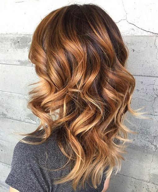 Ombre Hair Brown Caramel Trend Spring / Summer New Hair Color Ideas