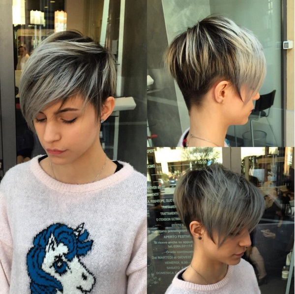 Asymmetrical Short Cups For Summer New Hair Cut Trends