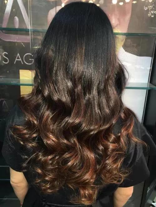 Ombre Hair On Dark Hair: Here Are The Best Models For This Season New Hairstyle Trends