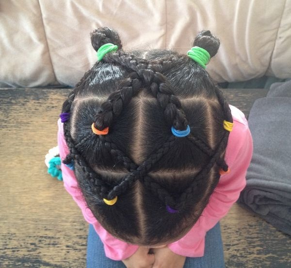 15 beautiful braid hairstyles for little girls Hairdressing