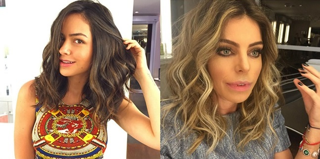 Ombre Hair On Medium Hair: Beautiful Models New Hairstyle Trends