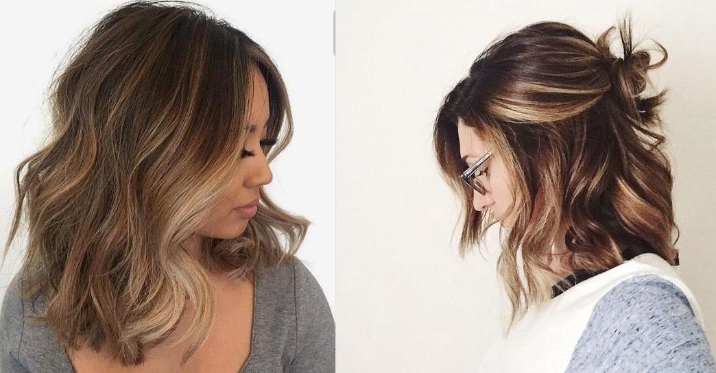 New summer mid-length hair: the most inspiring models Hairdressing Medium Hairstyles