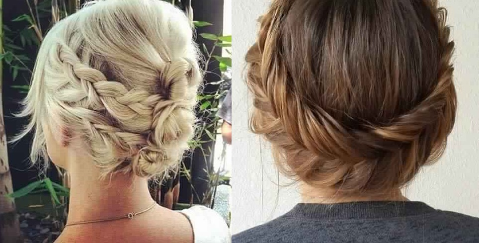17 Patterns of Short Hair Braids to Learn for Back Fast Simple Hairstyles