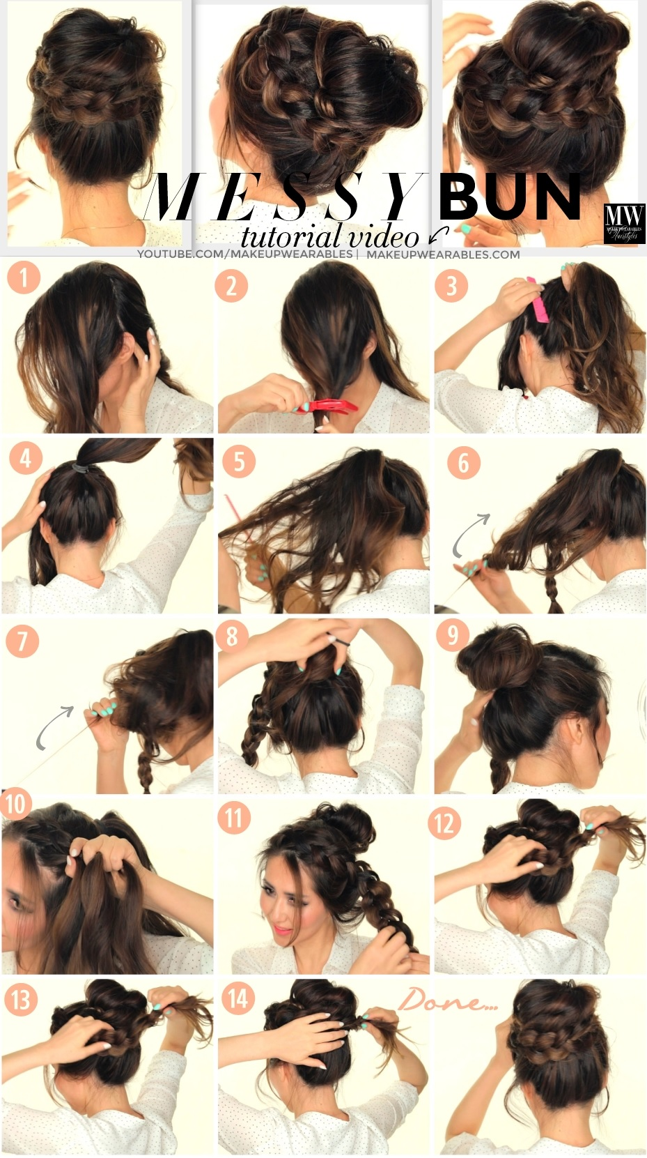 10 Beautiful Chignons To Do At Home Updo Hairstyles